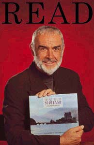Sean Connery suggests reading, but not the dictionary